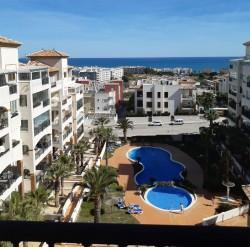 Квартира 85 кв.м. с видом на море и парк в Гуардамар дель Сегура