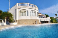 Вилла 150 кв.метров в Кальпе с частным бассейном