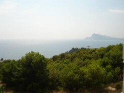 Вилла с завораживающим видом на море и горы в Альтеа
