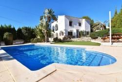 Вилла в Кальпе с частным бассейном и прекрасным видом на море
