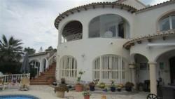 Уютный дом в средиземном стиле в Кальпе