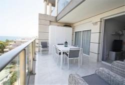 Современная квартира на 1 линии моря, Кальпе, пляж Ла Фосса