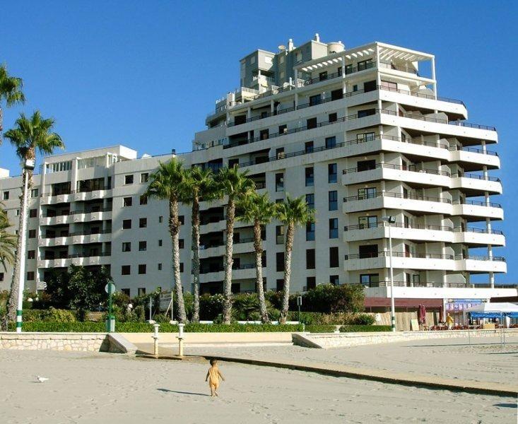 Красивая квартира на берегу моря в Кальпе
