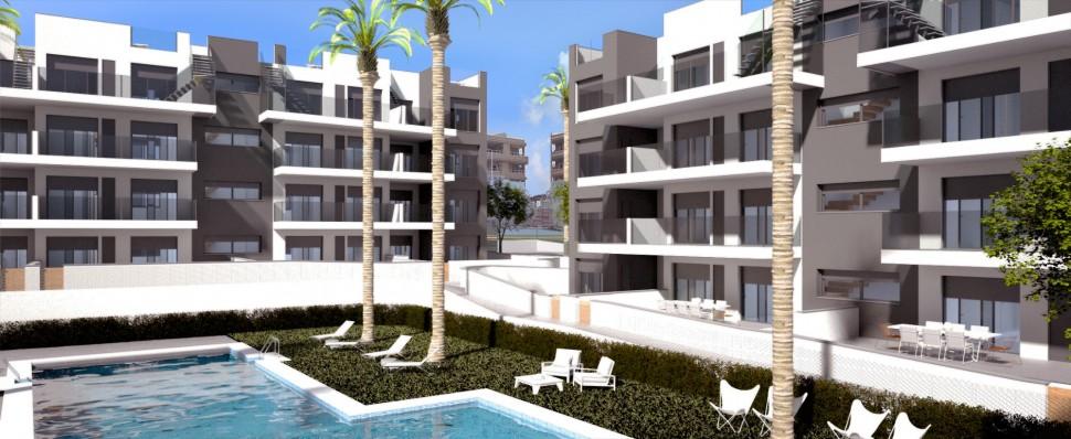 Апартаменты 73 кв. метров в Вилламартин