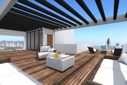 Современная вилла 220 кв.метров в Бенидорме
