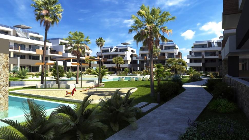 Роскошные квартиры 80 кв. метров в Вилламартин