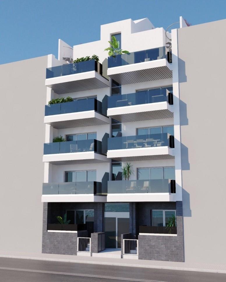Апартаменты 107 кв. метров рядом с пляжем в Торревьехе