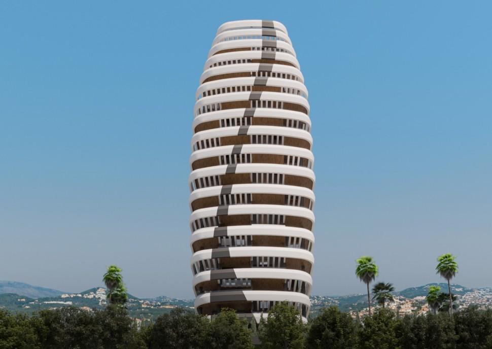 Квартиры 85 кв.м. с новым дизайном в Кальпе