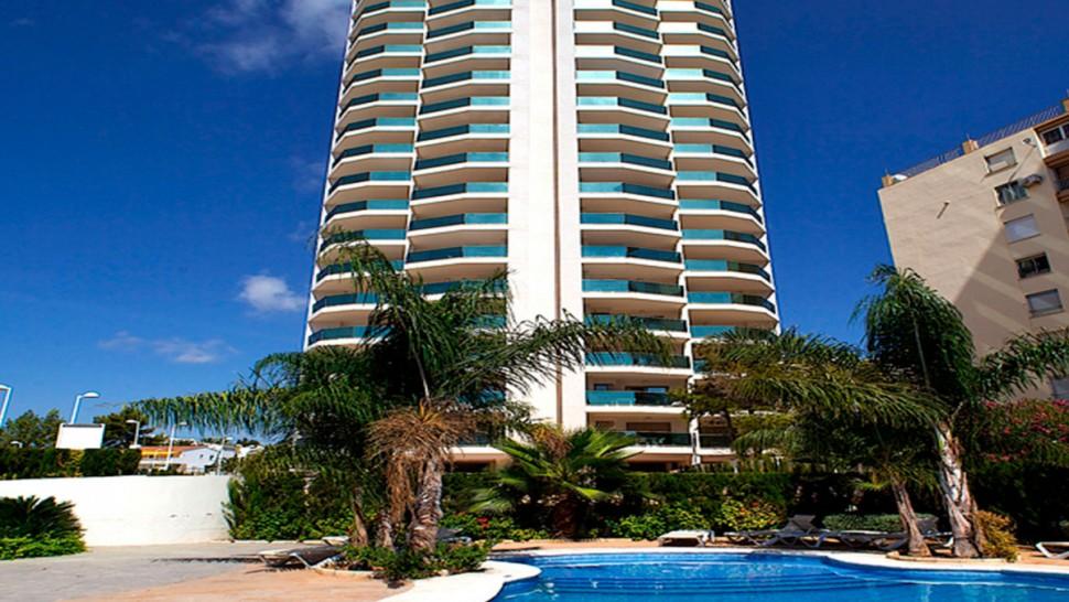 Апартаменты 105 кв.метров рядом с пляжем в Кальпе