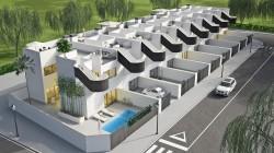 Новые стильные дома в Сан-Педро-дель-Пинатар