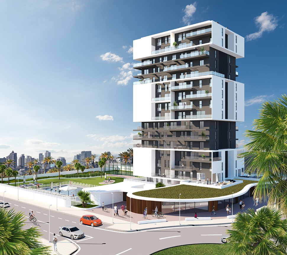 Апартаменты 98 кв. метров в Кальпе