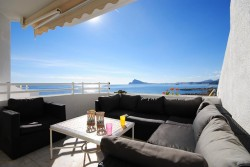 Апартаменты с уютной террасой на берегу моря