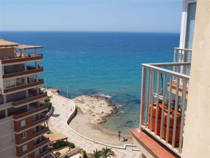 Хорошая квартира в 80 метрах от пляжа в Кальпе