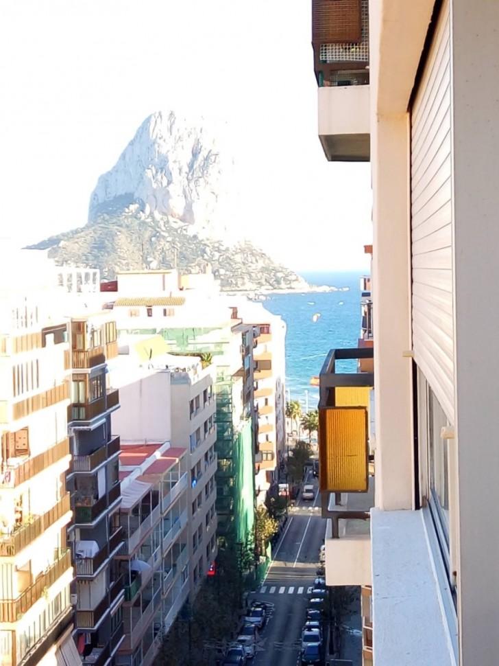 Апартаменты в Кальпе в 200 метрах от пляжа