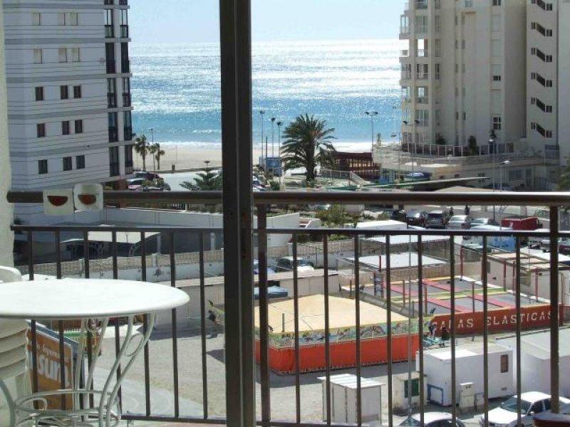 Хорошая 1-комнатная квартира с видом на море в Кальпе