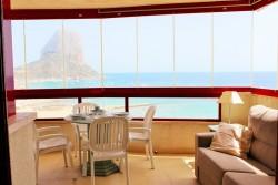 Очень красивая квартира с панорамным видом на море в Кальпе
