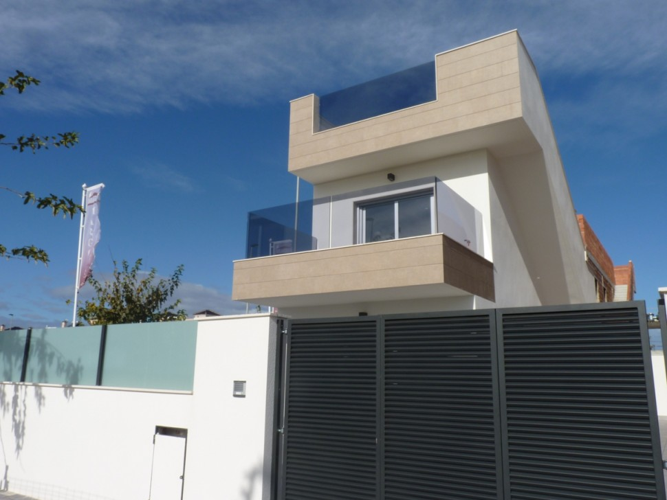 Виллы в стиле модерн 105 кв. метров в Торре де ла Орадада