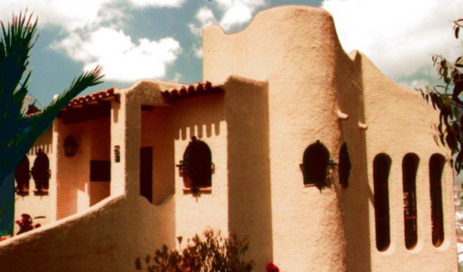 Вилла в деревенском стиле с видом на море в Кальпе