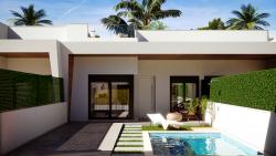 Новые виллы 92 кв.м. в Лос Алькасарес с частным бассейном и солярием