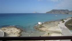 Уютная квартира с 3 спальнями на берегу моря в Кальпе