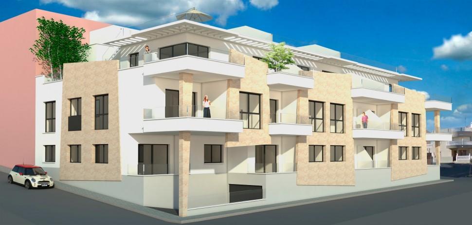Новые апартаменты 97 кв.метров в Торре де ла Орадада