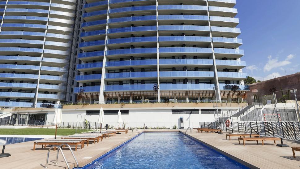 Апартаменты 105 кв. метров рядом с пляжем Пониенте в Бенидорме