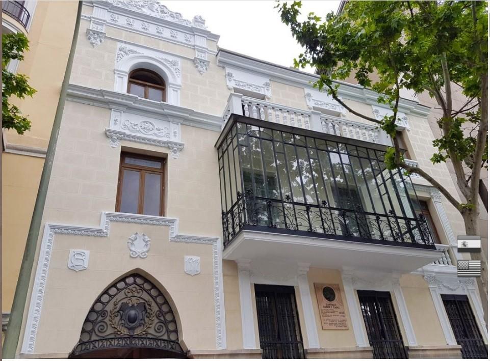 Апартаменты в старом дворце Рамон и Кахаль в Мадриде