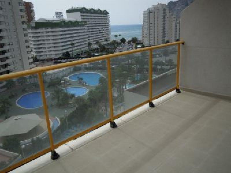 Квартира 76 кв. метров в 100 метрах от пляжа в Кальпе