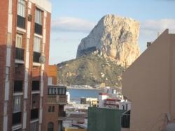 Шикарный пентхаус с видом на скалу Пеньо-де-Ифач в Кальпе