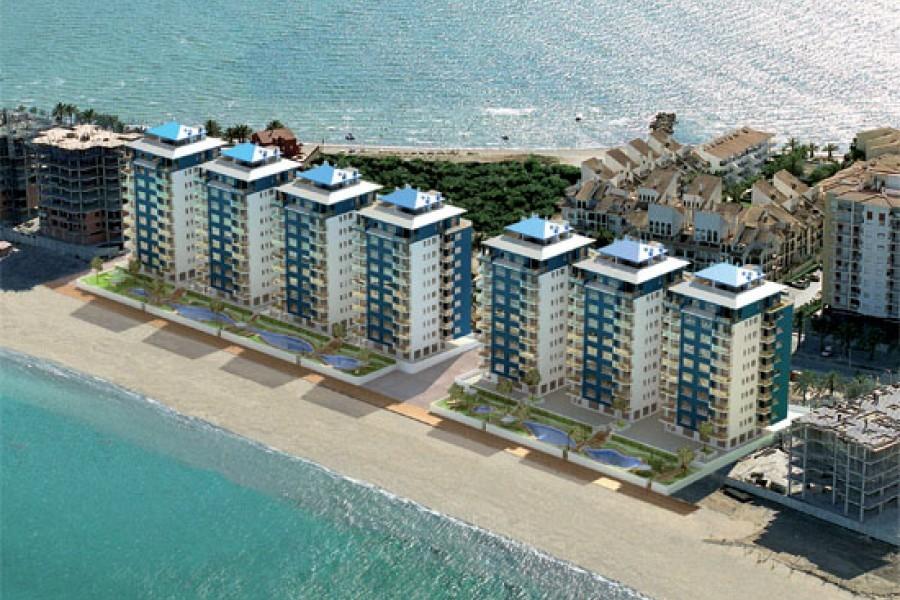 Эксклюзивные апартаменты в 10 м от моря в Ла Манга