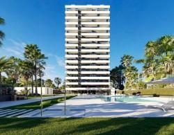 Апартаменты в стиле модерн в Кальпе