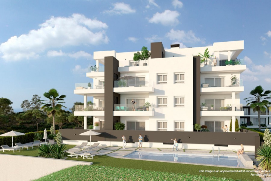 Квартира 68 кв.метров в сообществе с бассейном, Вилламартин