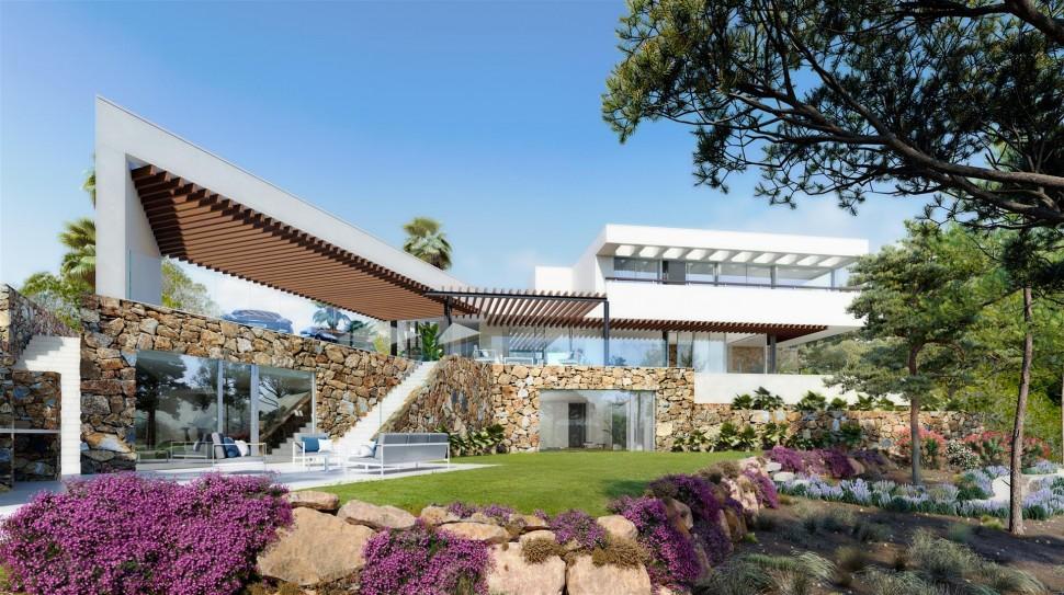 Восхитительная вилла с большими террасами в Лас-Колинас