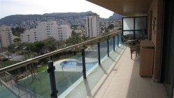 Чудесные апартаменты с общим бассейном и теннисом в Кальпе