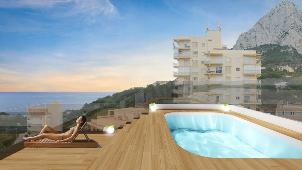 Квартиры рядом с пляжем в Кальпе
