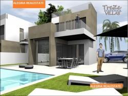 Вилл с бассейном в урбанизации в Сьюдад Кесада