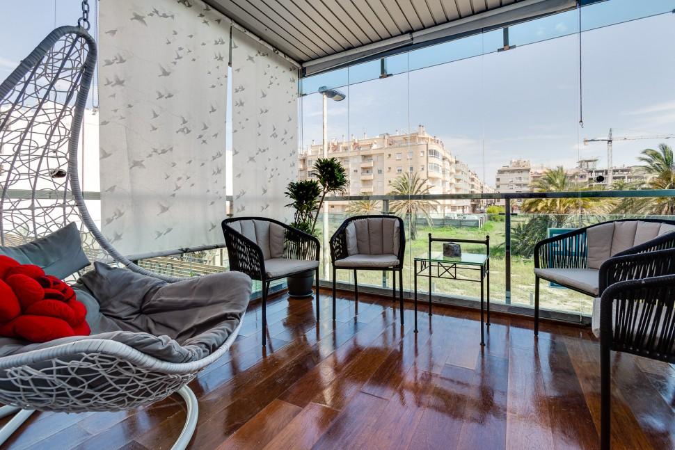 Квартира 117 кв.метров на первой линии моря в Торревьехе