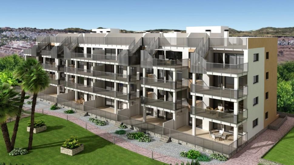 Апартаменты с 3 спальнями в сообществе в Вилламартин