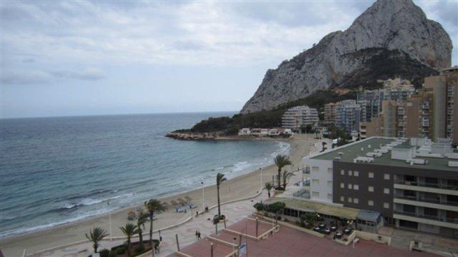 Квартира на 1 линии пляжа Ла Фосса в Кальпе
