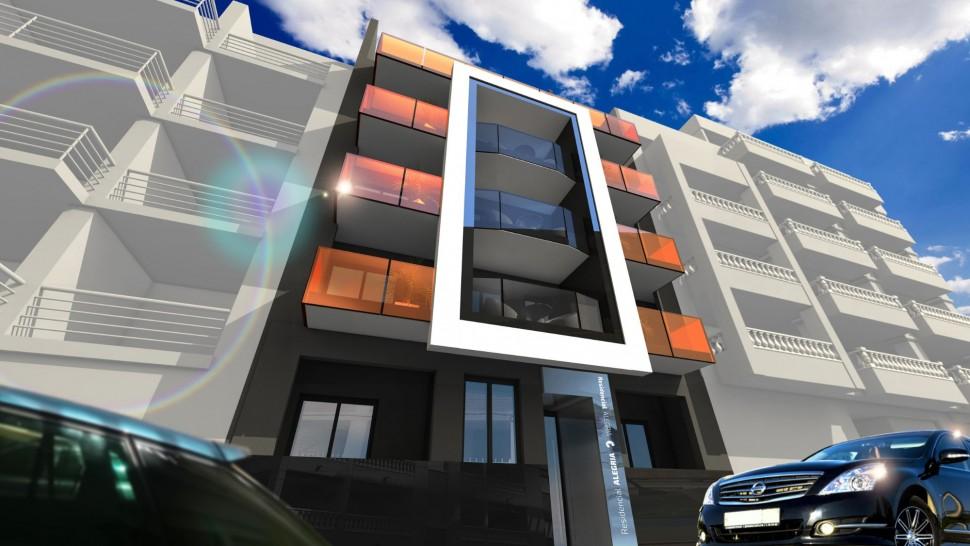 Новые апартаменты 88 кв.метров в Торревьехе