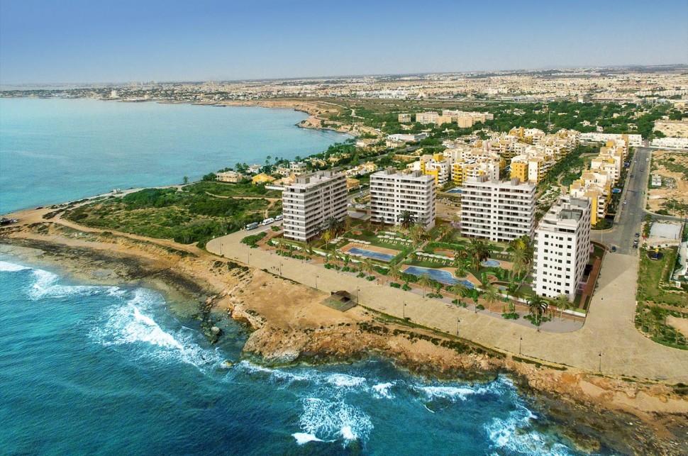 Апартаменты 95 кв.м. в Пунта Прима (Ориуэла Коста) с видом на море