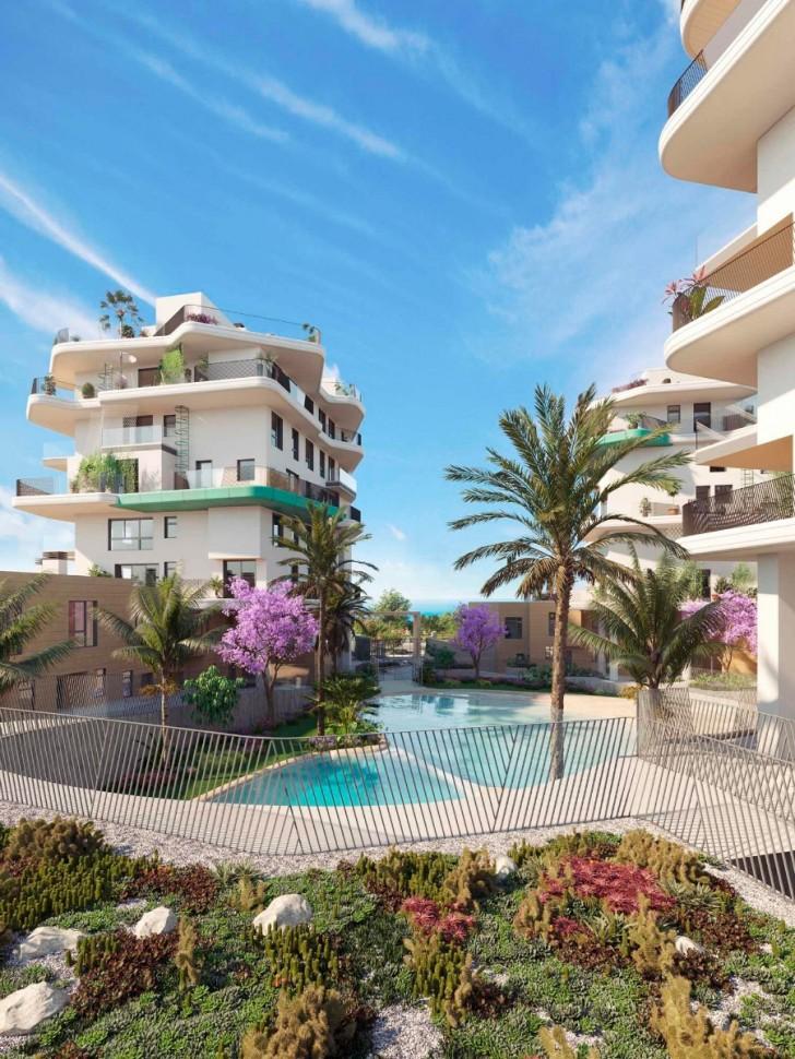 Апартаменты на берегу моря в Вильяхойосе
