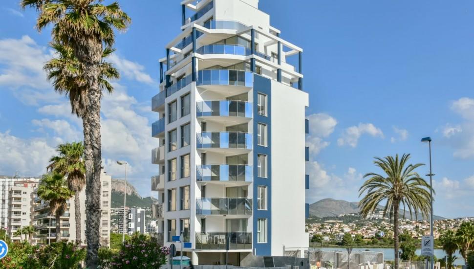 Новая квартира в доме Holamar в Кальпе