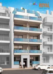 Роскошные апартаменты в центре Торревьехи