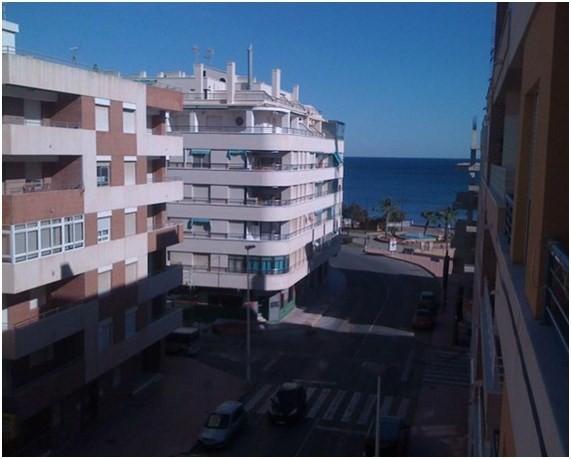 Меблированная квартира с видом на море в Терревьехе
