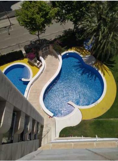Квартира 50 кв.м. в 500 м от пляжа Леванте, Бенидорм