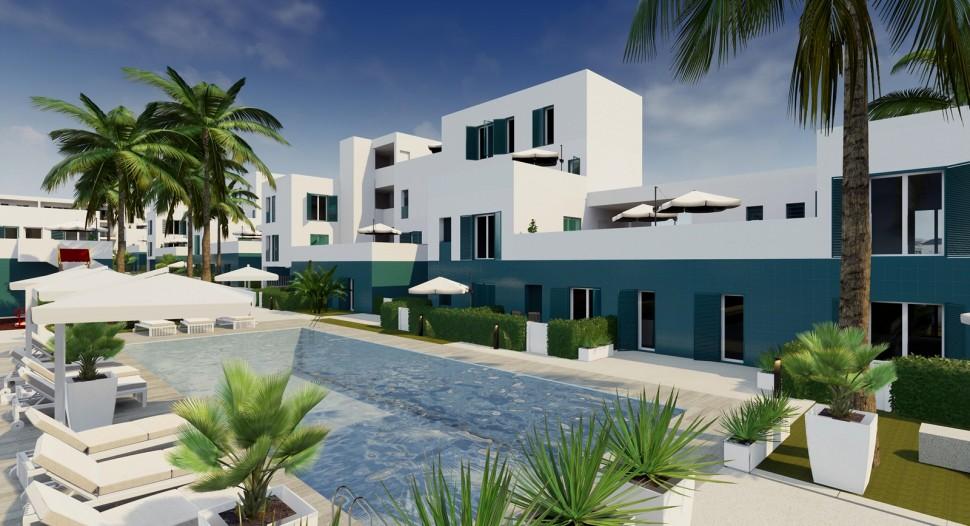 Стильные апартаменты в Playa Flamenca