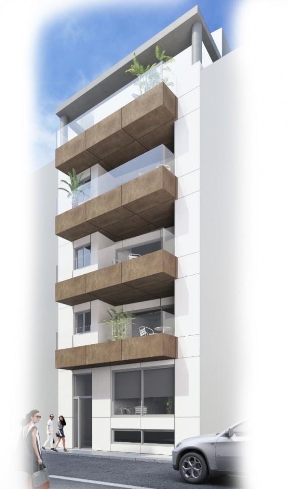Новые апартаменты 89 кв.метров в Ла Мата
