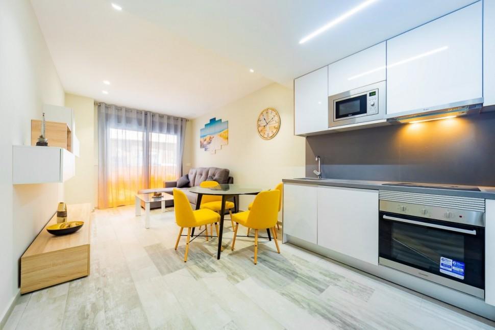 Новая квартира 58 кв.метров в Торревьехе