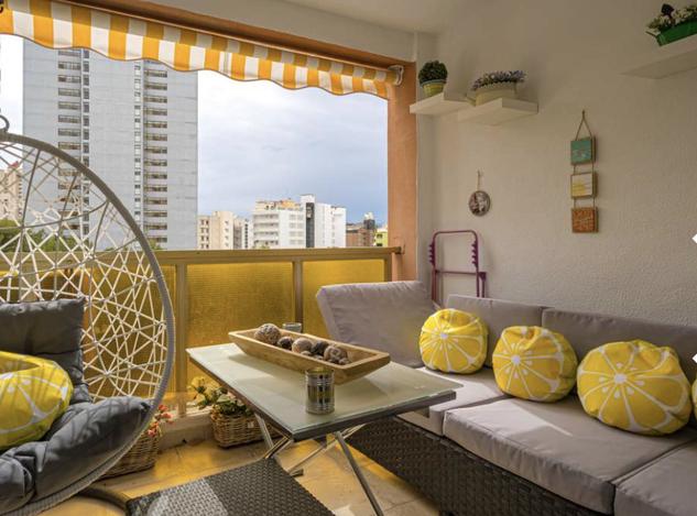 Квартира 70 кв.м в Бенидорме, в 200 м от пляжа Леванте
